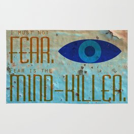 Litany Against Fear Rug