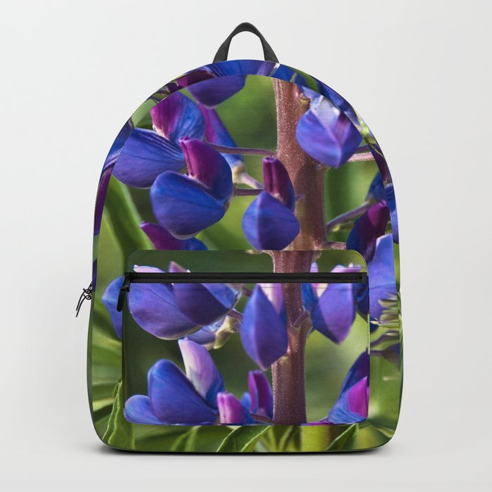 Summer Meadow with Blue Lupine Backpack
