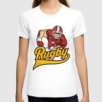 rugby T-shirts featuring RUGBY by frail