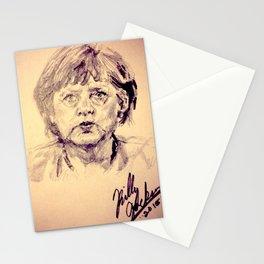 Angela Merkel Stationery Cards