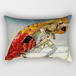 "Kay Nielsen Fairy Tale Art from ""East of the Sun"" Rectangular Pillow"