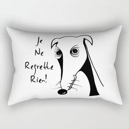 Je ne regrette rien Rectangular Pillow