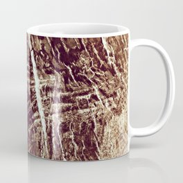 old wood texture Coffee Mug