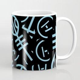 TØP Stickers - Original Logo Blue Coffee Mug