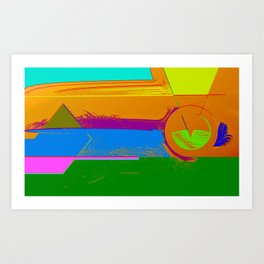 Aeons Art Print