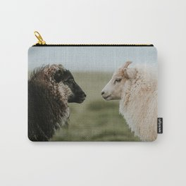 Sheeply in Love - Animal Photography from Iceland Carry-All Pouch