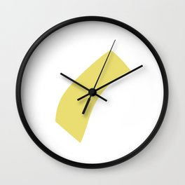 minimalism brushes Wall Clock