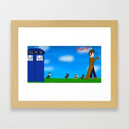 Mama Ducktor and His Quackpanions  Framed Art Print