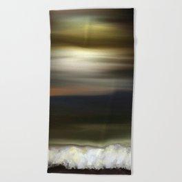 Ocean at Sunset Beach Towel