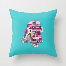 Cool Girls Like Epic Droids Throw Pillow