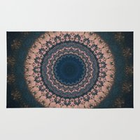 boho Area & Throw Rugs featuring Boho by Jane Lacey Smith