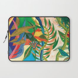Eye flower into the jungle Laptop Sleeve