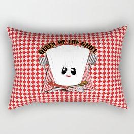Queen of the Grill Rectangular Pillow