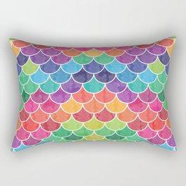 Watercolor Lovely Pattern VVXVI Rectangular Pillow