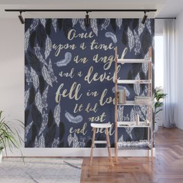Daughter of Smoke and Bone quote design Wall Mural