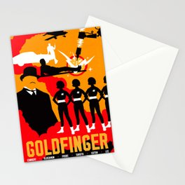 James Bond Golden Era Series :: Goldfinger Stationery Cards
