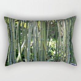 Bamboo zen calm Rectangular Pillow