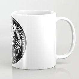 In Odin we trust - The king of Valhalla Coffee Mug