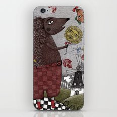 It's a Hedgehog! iPhone & iPod Skin
