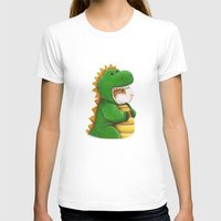 guinea pig T-shirts featuring Guinea Pig in a Dinosaur Costume - Peegosaurus Rex by When Guinea Pigs Fly