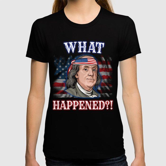 Benjamin Franklin 4th Of July  T-shirt