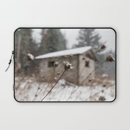 Snowy Barn Laptop Sleeve
