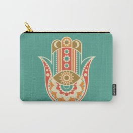 Colorful Hamsa Hand Carry-All Pouch