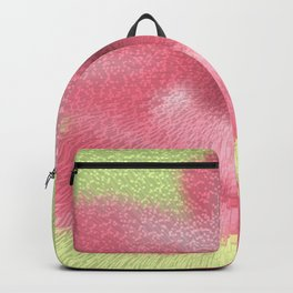 Abstract pink flowers Backpack