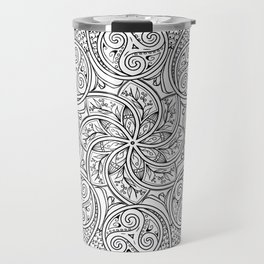 Celtic Swirl Mandala Travel Mug