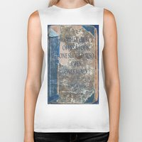 books Biker Tanks featuring Books by Dora Birgis