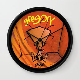 Gregory™ Merch-Madness! Wall Clock