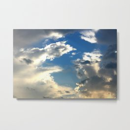 Attack of the Clouds Metal Print
