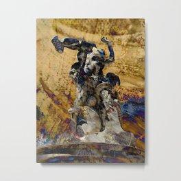 L'homme et sa misère Metal Print