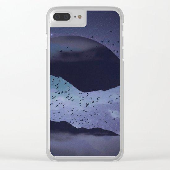 Am I sleepwalking? Clear iPhone Case