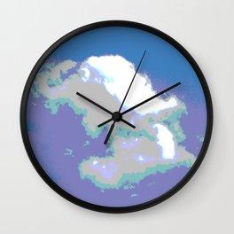 Cloud Wall Clock