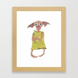 Elf Framed Art Print