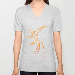 Sema The Dance Of The Whirling Dervish Unisex V-Neck