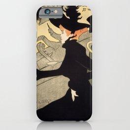 Henri de Toulouse-Lautrec - Divan Japonais iPhone Case