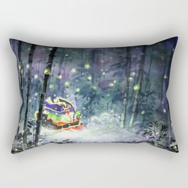 Firefly Princess Rectangular Pillow