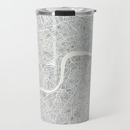 City Map London watercolor map Travel Mug