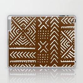 Line Mud Cloth // Brown Laptop & iPad Skin