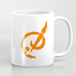Badass Art Group Logo (Orange) Coffee Mug