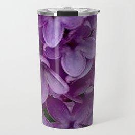 Lilac Blooms Travel Mug
