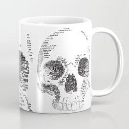 1 Corinthians 1 Skull Coffee Mug