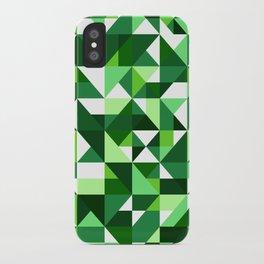 Green Machine / Pattern #8 iPhone Case