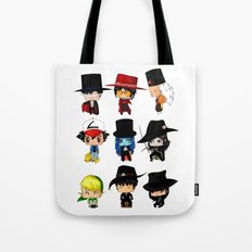 Anime Hatters Tote Bag