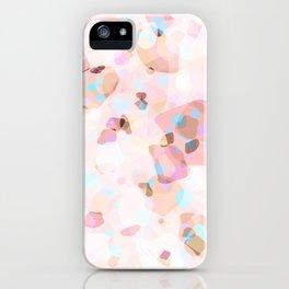 Terrazzo Crystals I. iPhone Case