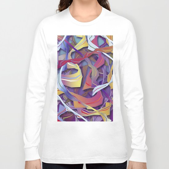 Interaction (in purple) Long Sleeve T-shirt
