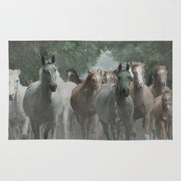 Arabian horses Rug