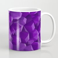 geode Mugs featuring Geode by Screen Candy